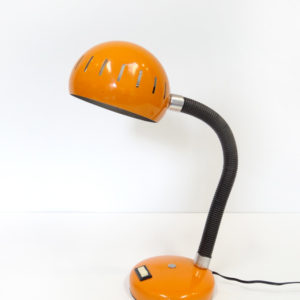 LAMPE Boule Industrielle Orange