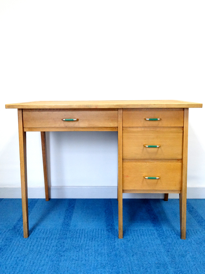 Bureau r tro design 1950 brocnshop for Meuble bureau 1950