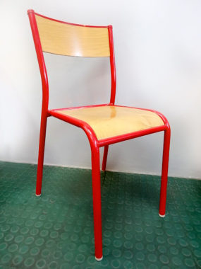 chaise-mullca-rouge