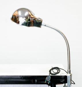 LAMPE Industrielle sur Clip-Étau