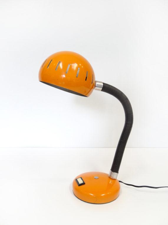 LAMPE Boule Industrielle Orange