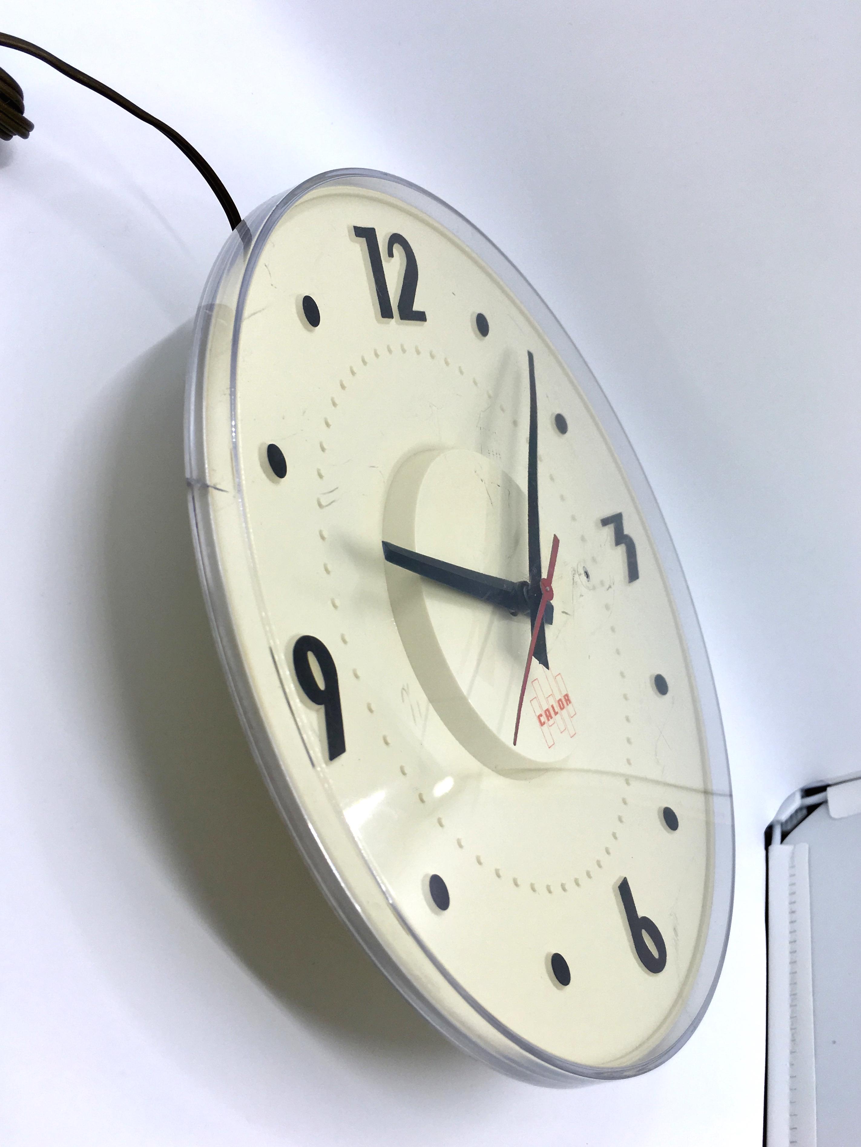 Horloge murale r tro vintage calor brocnshop for Horloge murale retro
