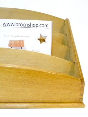 trieur de bureau vintage tout bois brocnshop. Black Bedroom Furniture Sets. Home Design Ideas