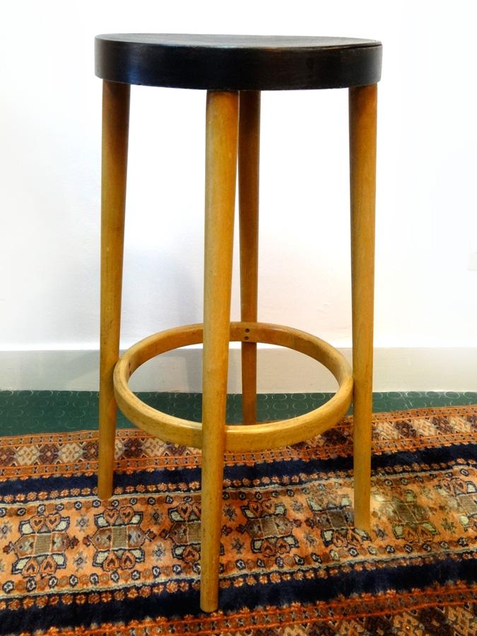 tabouret haut de bistrot brocnshop. Black Bedroom Furniture Sets. Home Design Ideas