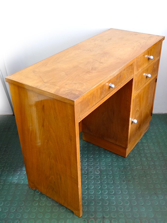 Bureau console moderniste art deco brocnshop for Bureau console