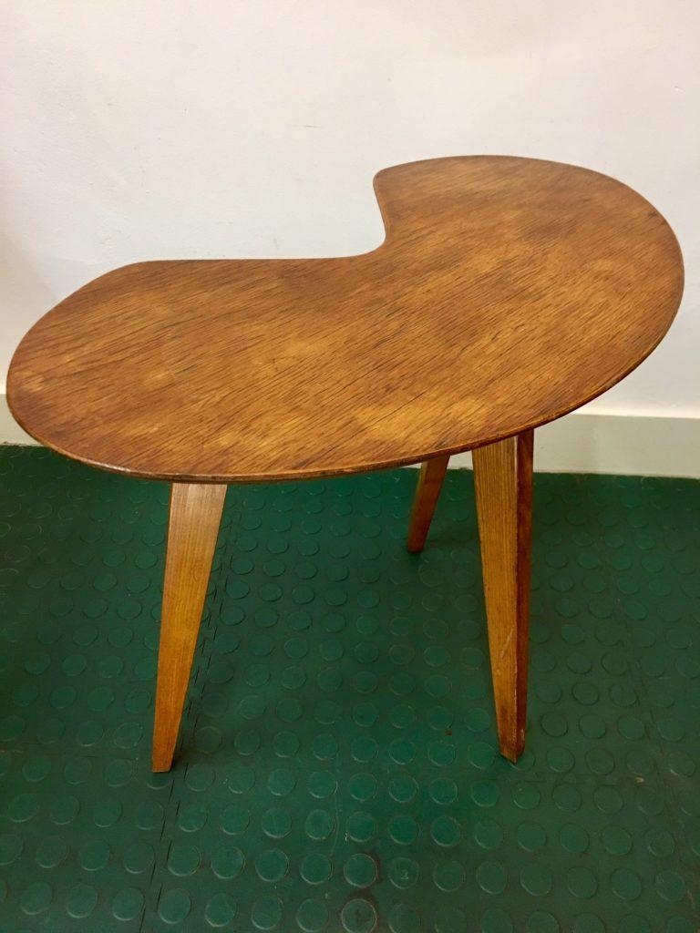 table basse haricot design 1950 brocnshop. Black Bedroom Furniture Sets. Home Design Ideas