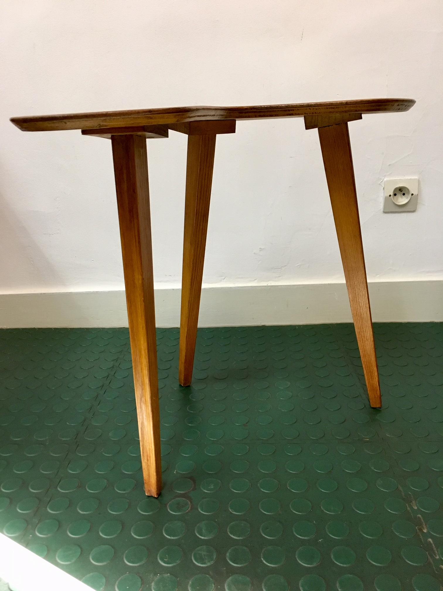 Table Basse Haricot Design 1950 Brocnshop